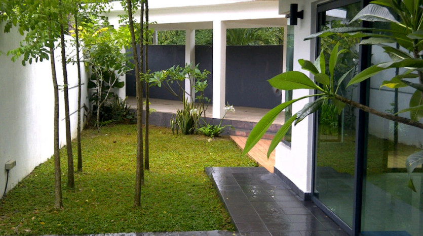 Outside With Garden environment