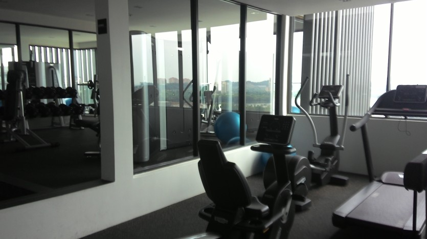 Sky Gym at The Top Level